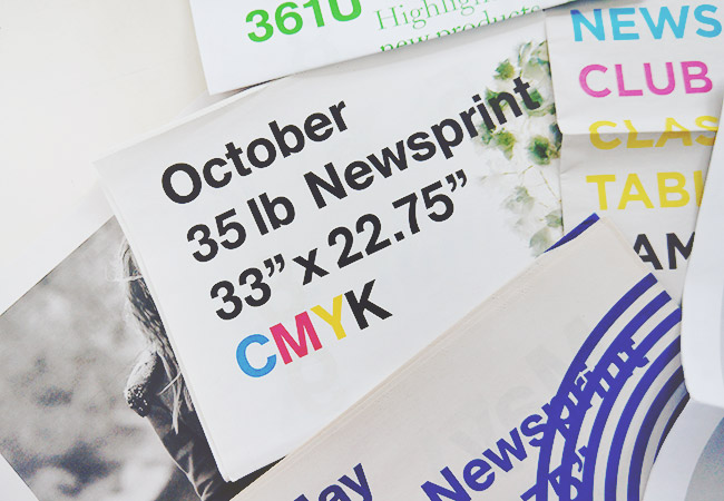 Nubby Twiglet | Resources and Tips For Newsprint Projects