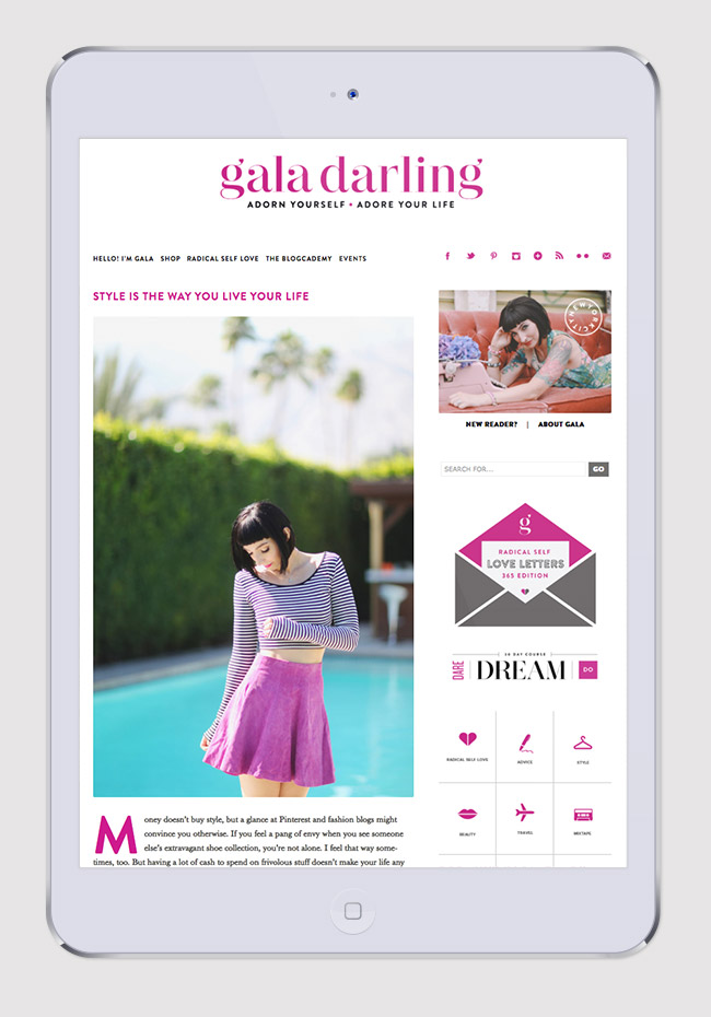 Nubby Twiglet | Project Spotlight: Gala Darling