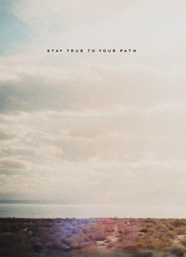 Nubby Twiglet | Stay True To Your Path