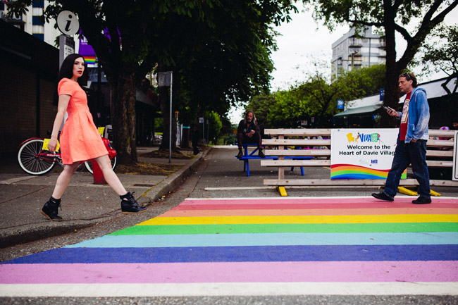 Follow The Rainbow in Vancouver