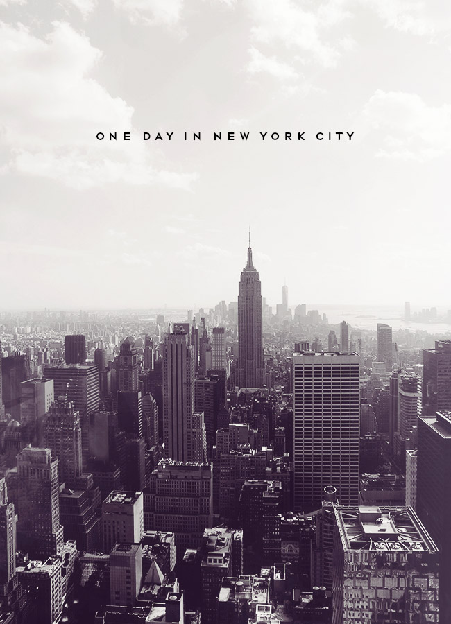 do you have just one day in new york city here are 15