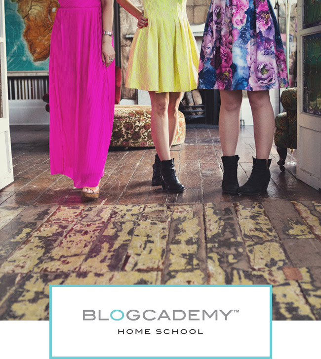 The Blogcademy Home School Modules: Building Your Audience, Dealing With Negativity, Creating Awesome Still Lifes and Setting Your Rates!