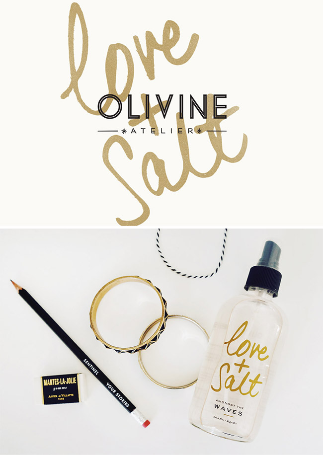 Branch | Olivine Atelier Love + Salt Beach Hair and Body Mist