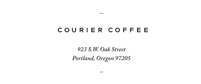 Nubby Twiglet | Out & About: Courier Coffee, Portland