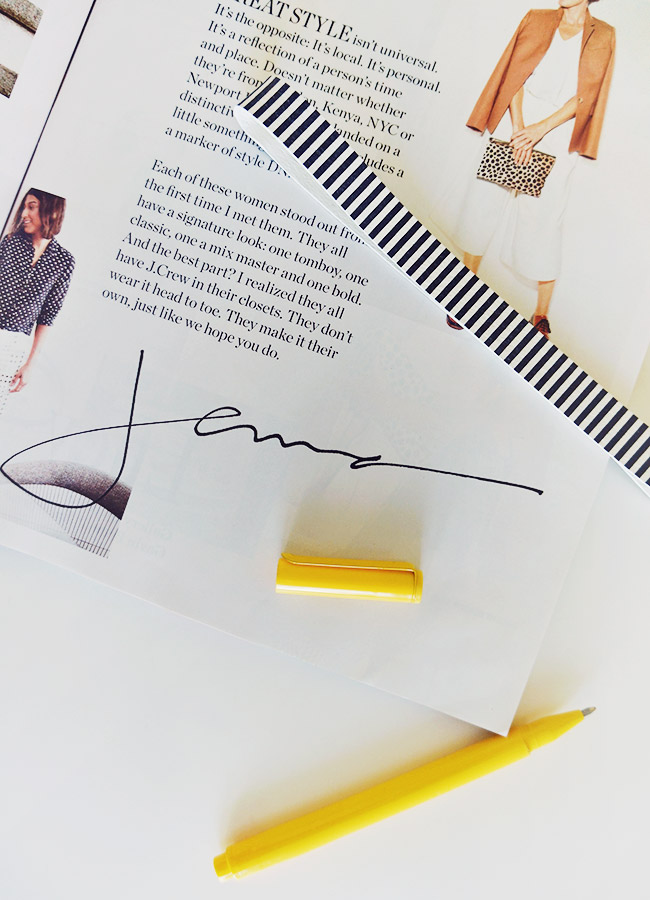 Nubby Twiglet | The Typofiles: J. Crew Style Guide