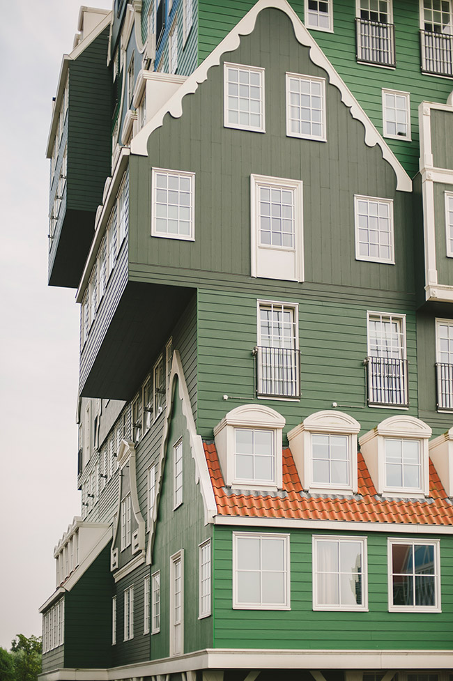 Nubby Twiglet | A Facade Of 70 Stacked Houses in Zaandam, The Netherlands