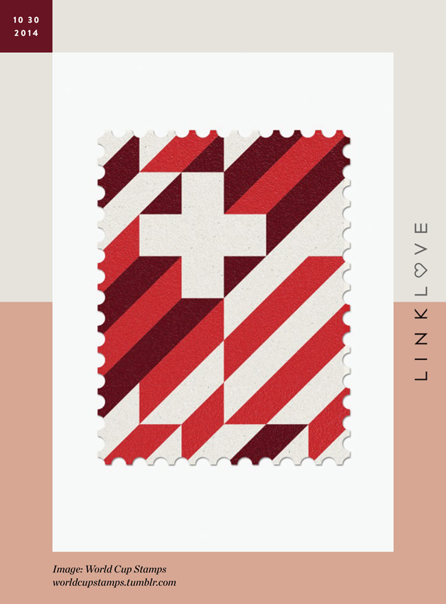 Nubby Twiglet | Link Love: World Cup Stamps