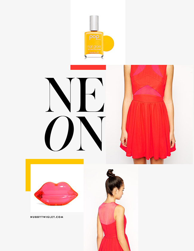 Nubby Twiglet | What I Wore: A Neon Day In Sydney