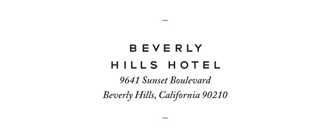 Nubby Twiglet | Out & About #5: Beverly Hills Hotel