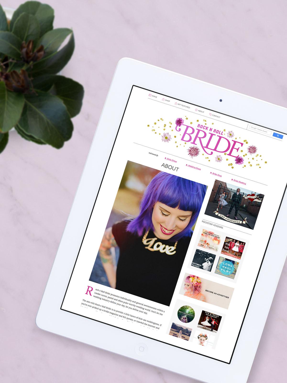 Nubby Twiglet | The New Look of Rock n Roll Bride